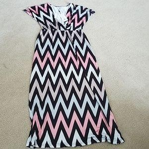 NWT Chevron print dress